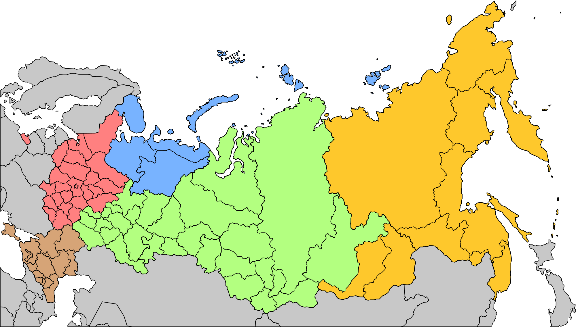 Military districts of Russia