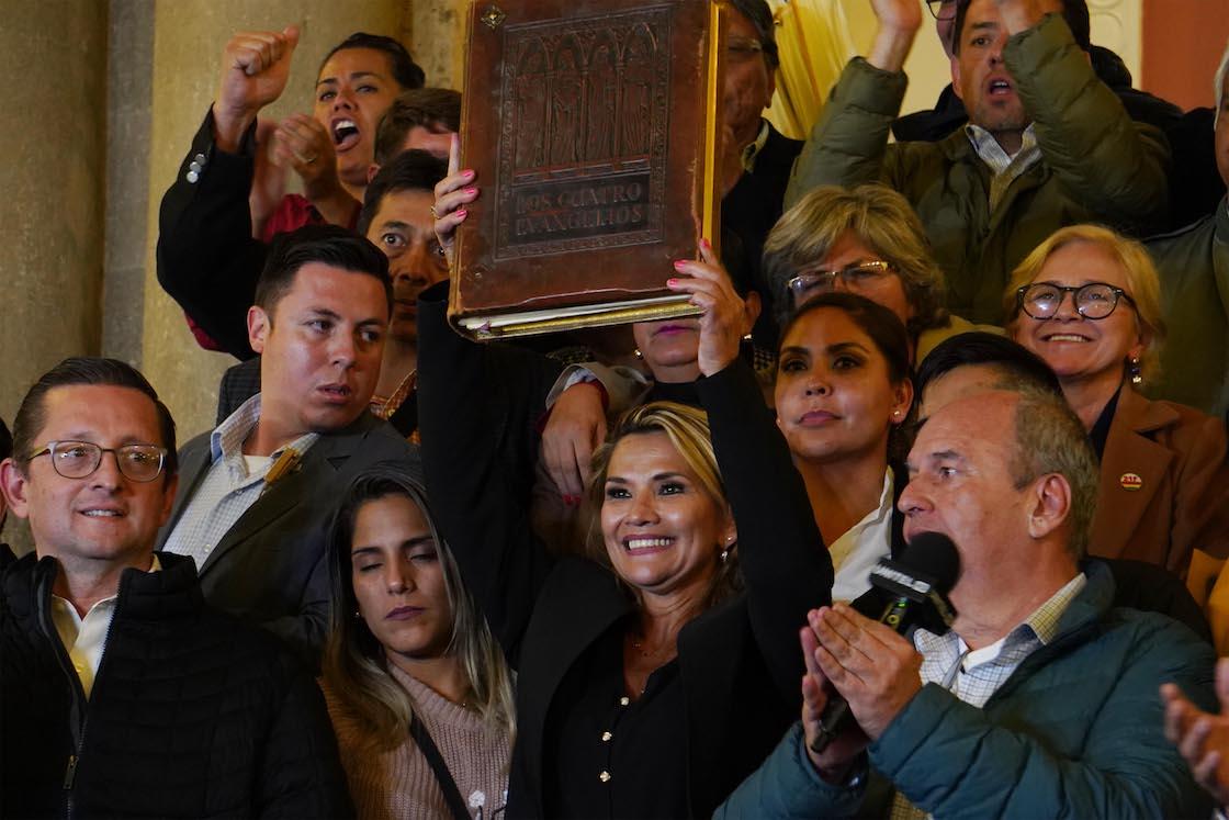 New president of Bolivia