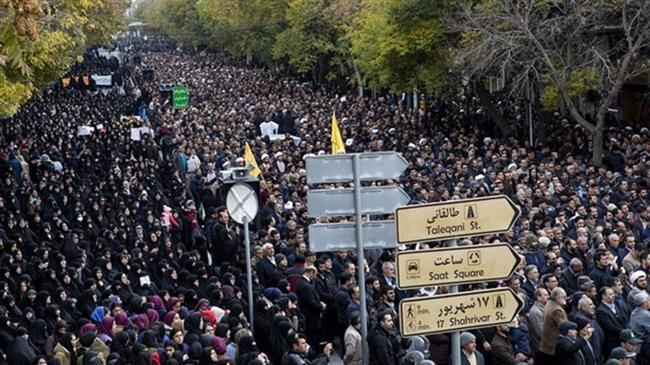 People rallied in Iranian city of Tabriz