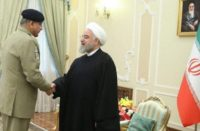 Rouhani met Pakistani General