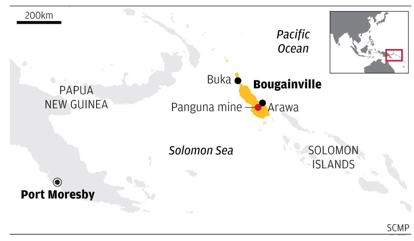 Bougainville map