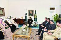 Imran Khan received SA Foreign Minister