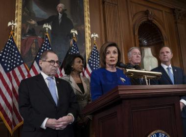 Nancy Pelosi, Jerrold Nadler, Adam Schiff, Richard Neal, Maxine Waters