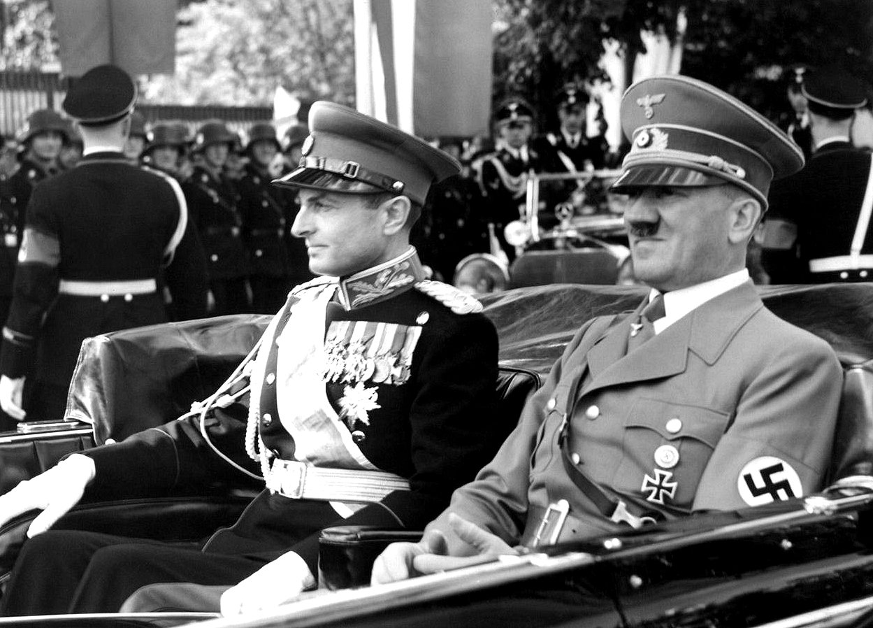 Adolf Hitler and Prince Paul of Yugoslavia