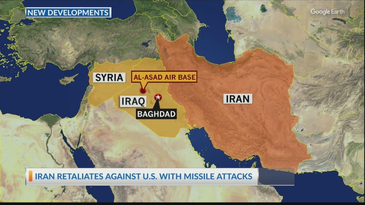 Iran retaliates