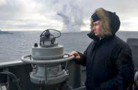 Putin watches Black Sea exercise