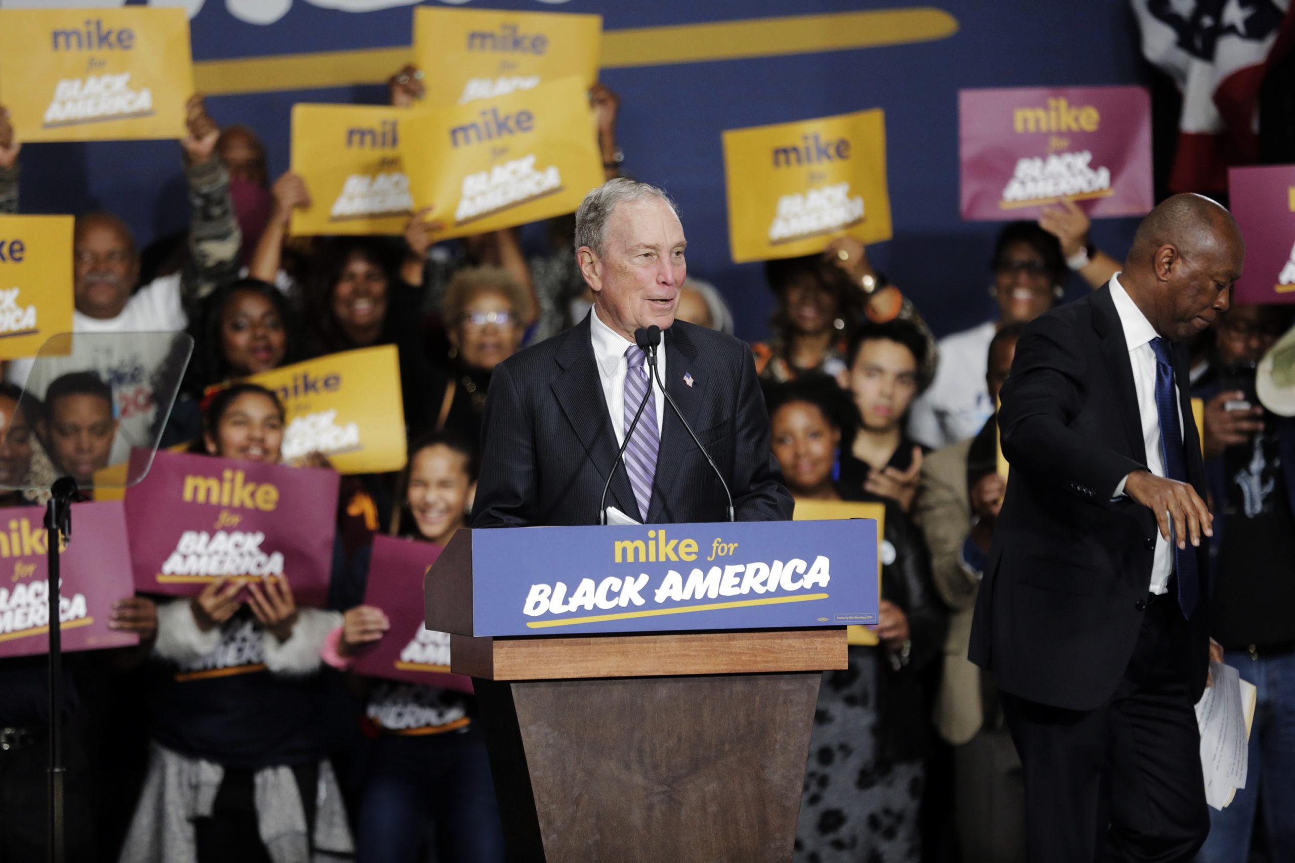Mike Bloomberg, Michael Bloomberg, Sylvester Turner