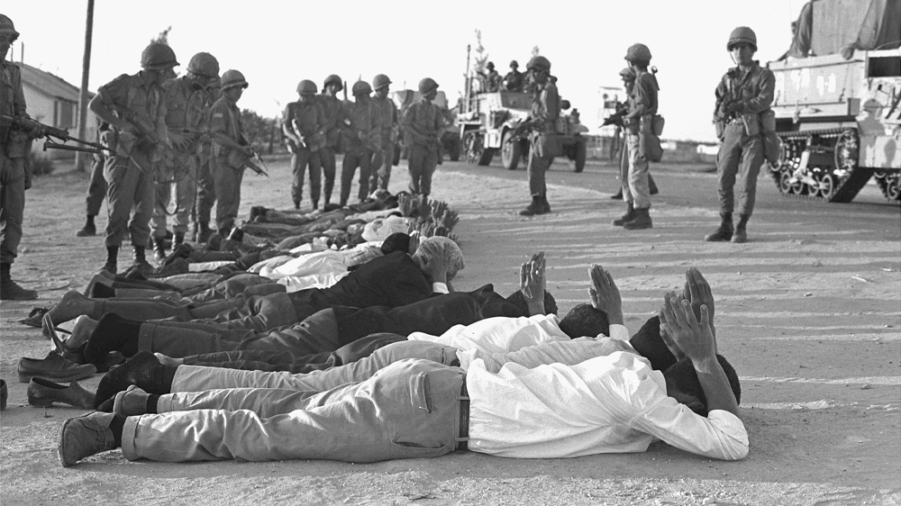 Israel Egypt Palestinians War 1967