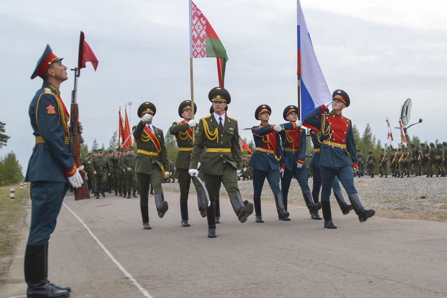 Russian and Belarussian military
