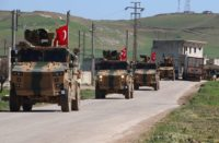 Turkish military completes first patrol in Syria's Idlib