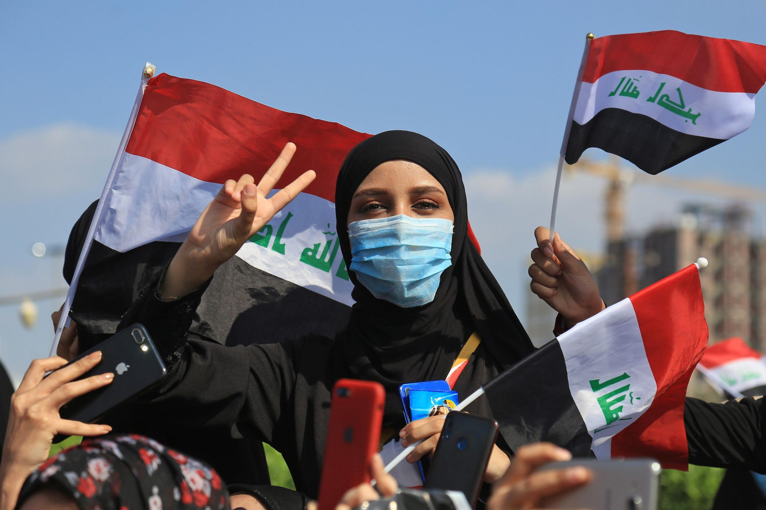 Women come to the fore in Iraqi protests