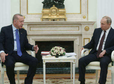 Erdogan - Putin meeting in Moscow