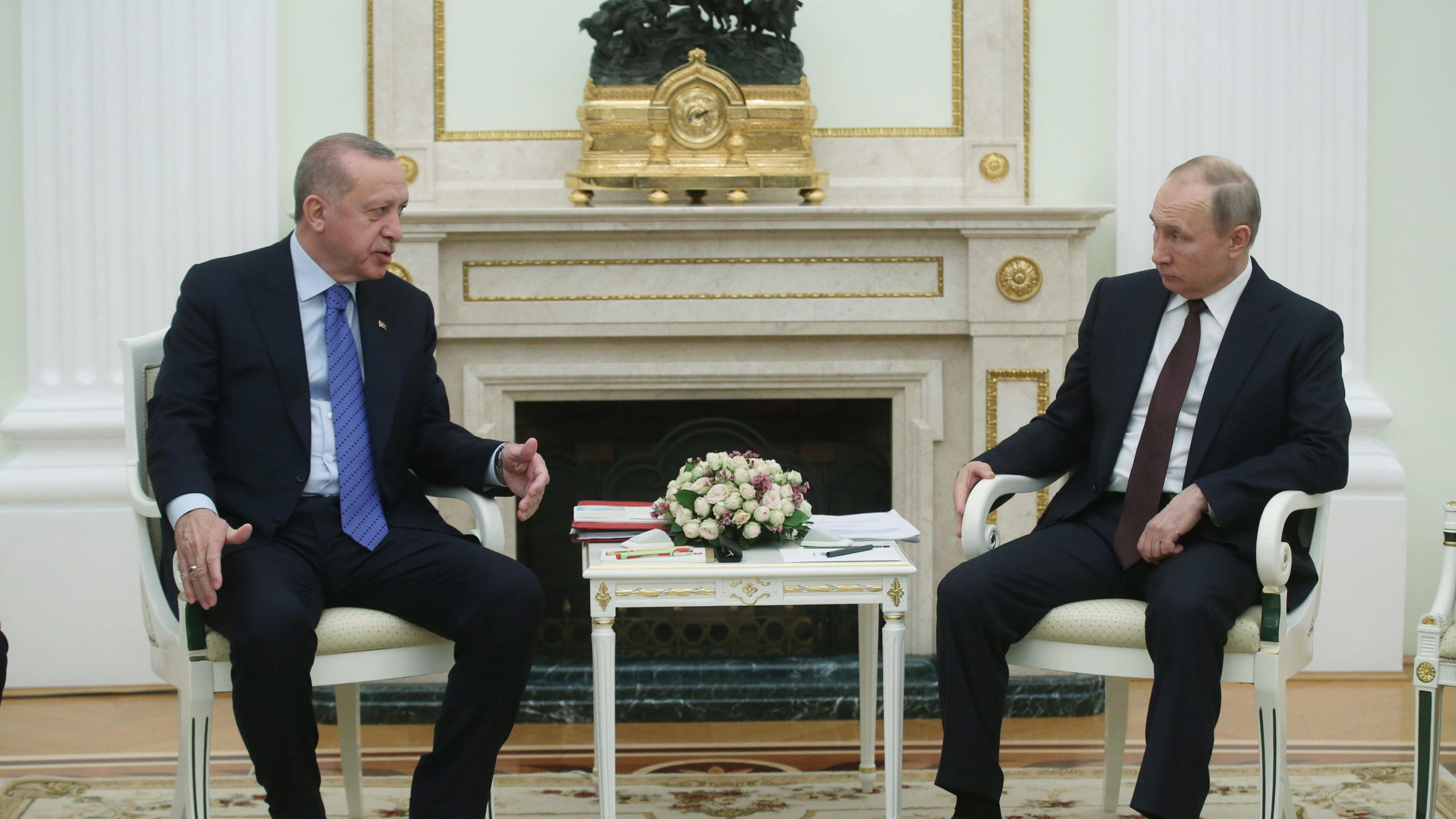 Erdogan - Putin meeting in Moscow