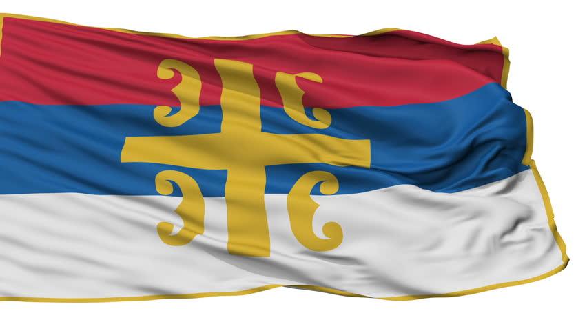 Flag of the Serbian Orthodox Church