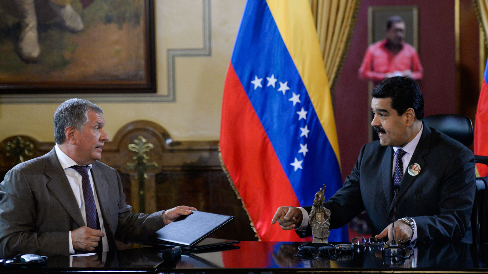 Maduro and Sechin