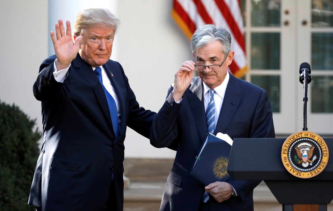 Τραμπ και Πάουελ