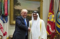 Trump and Prince Mohamed ben Zayed