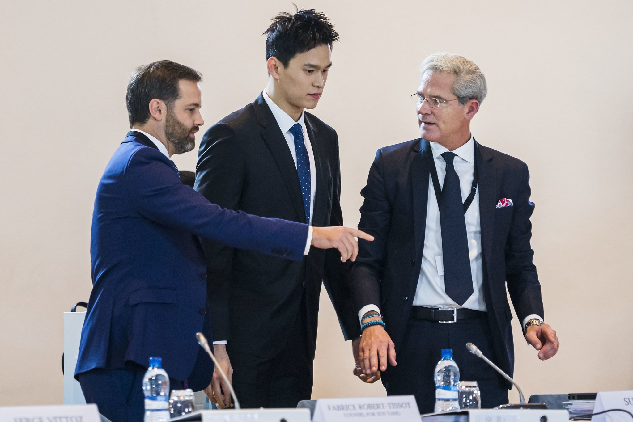 WADA against Sun Yang