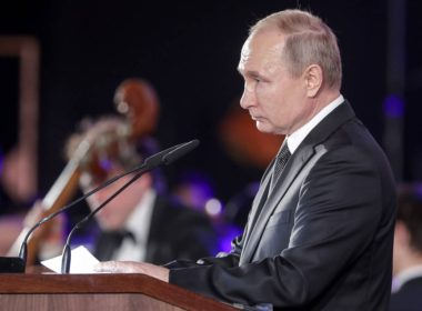 Russia's President Putin attends celebrations in Israel marking 75th anniversary of liberation of Auschwitz