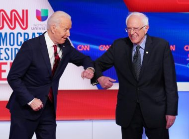 Sanders endorsed the candidacy of Joe Biden