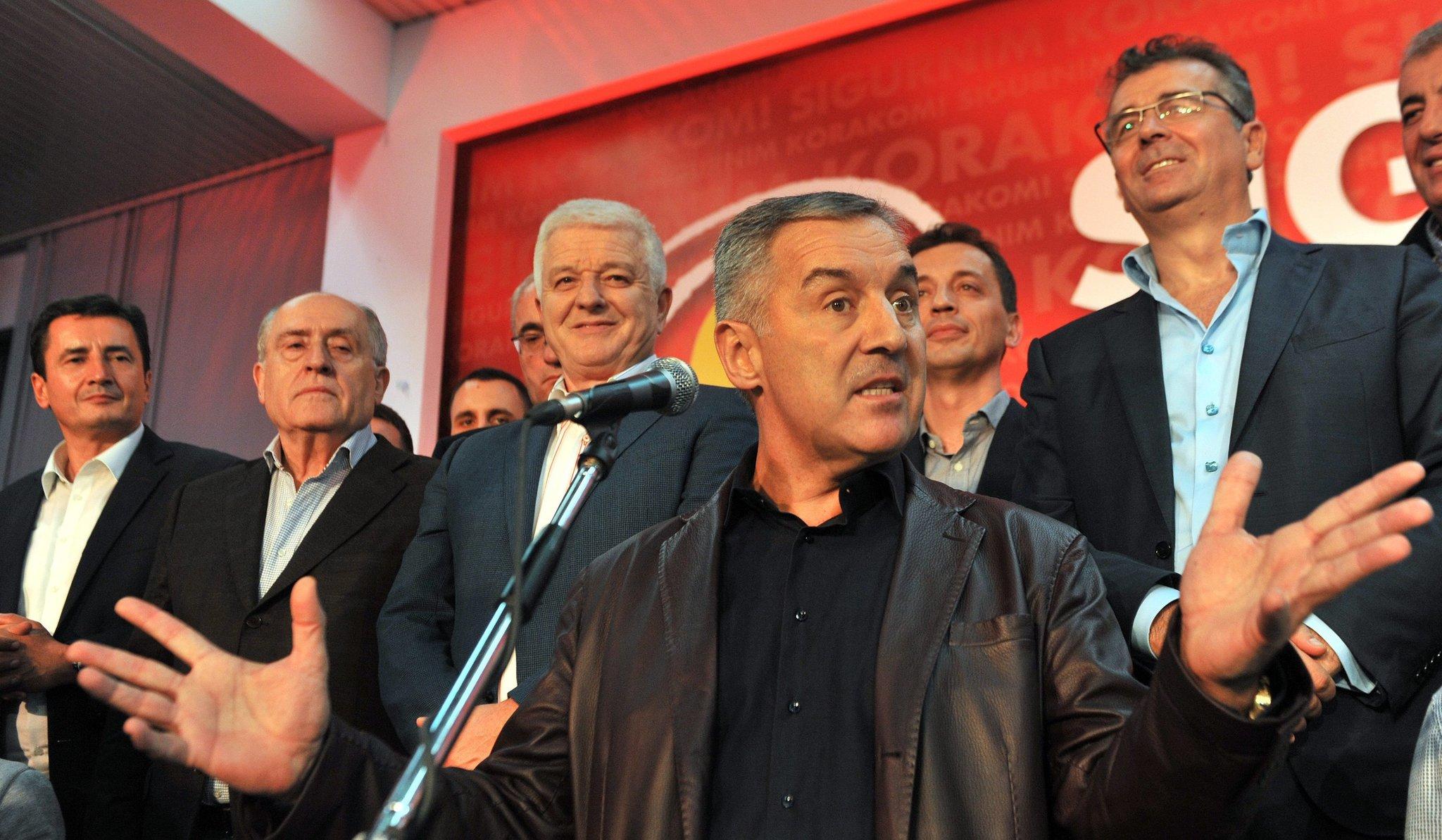 Djukanovic resigns