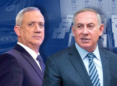 Gantz vs Netanyahu
