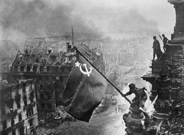 USSR flag Berlin