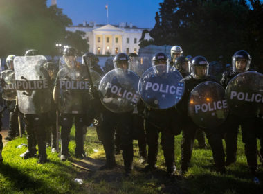 Police at WH