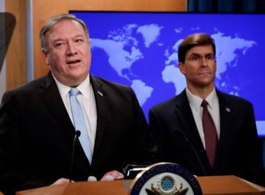 Pompeo US Syria sanctions