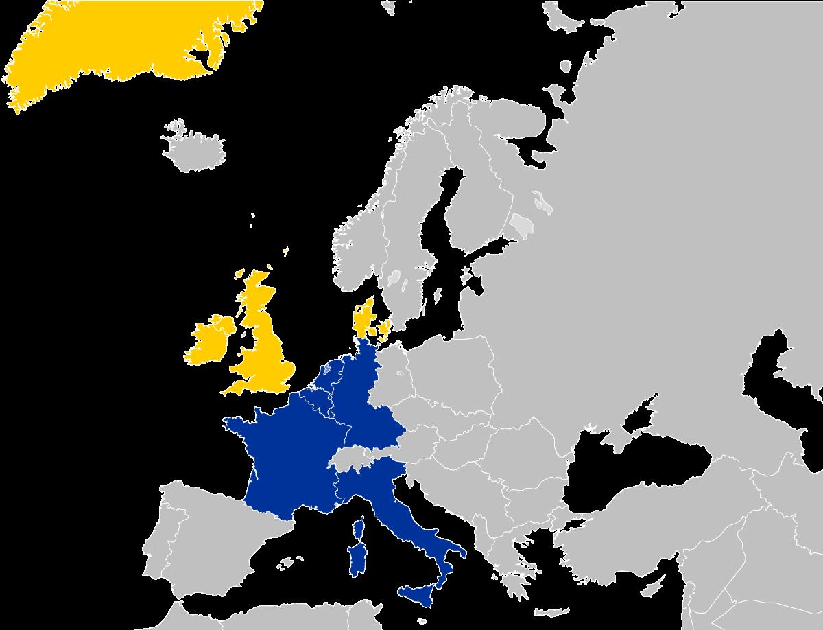 1973 EC map enlargement