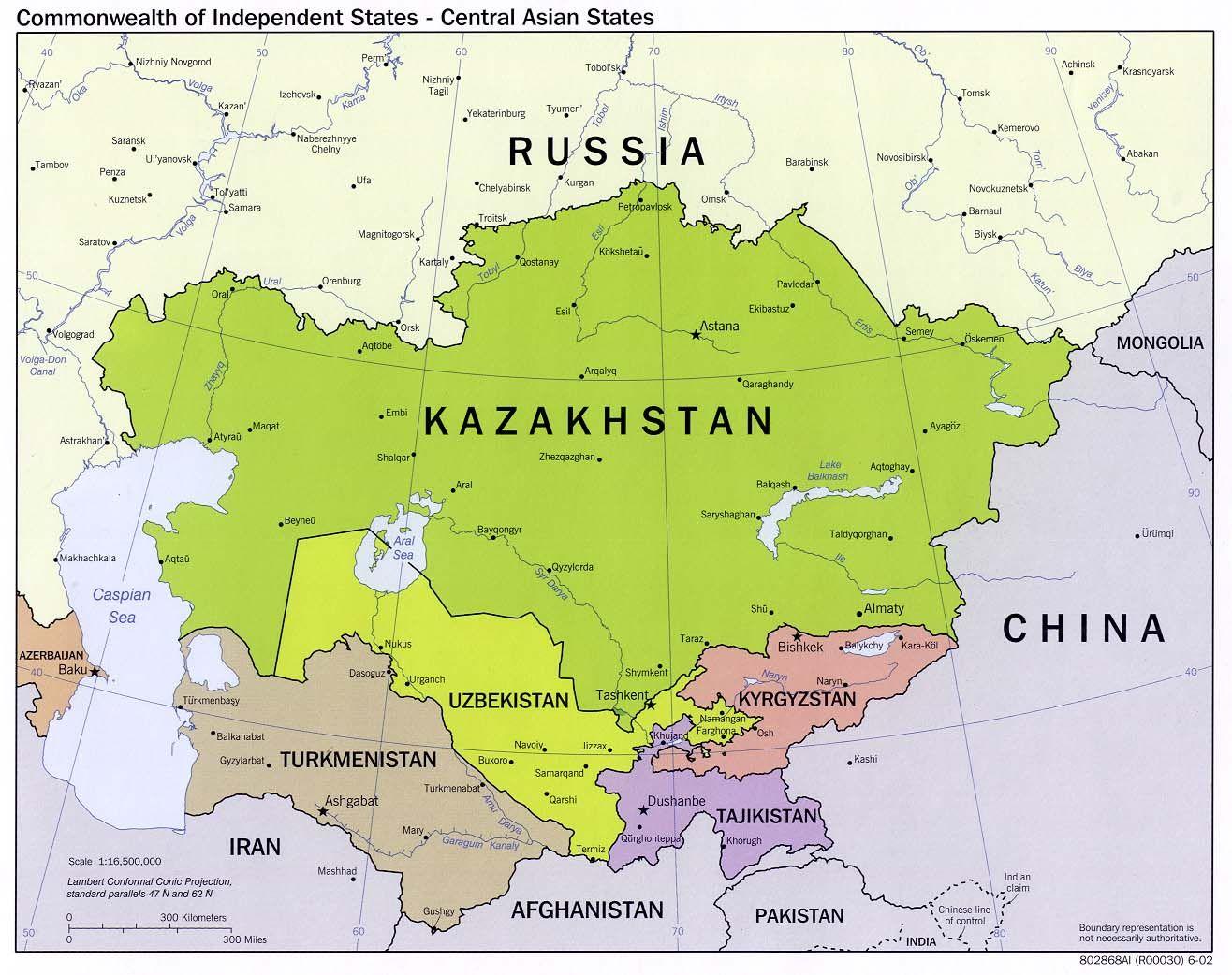 CIS map