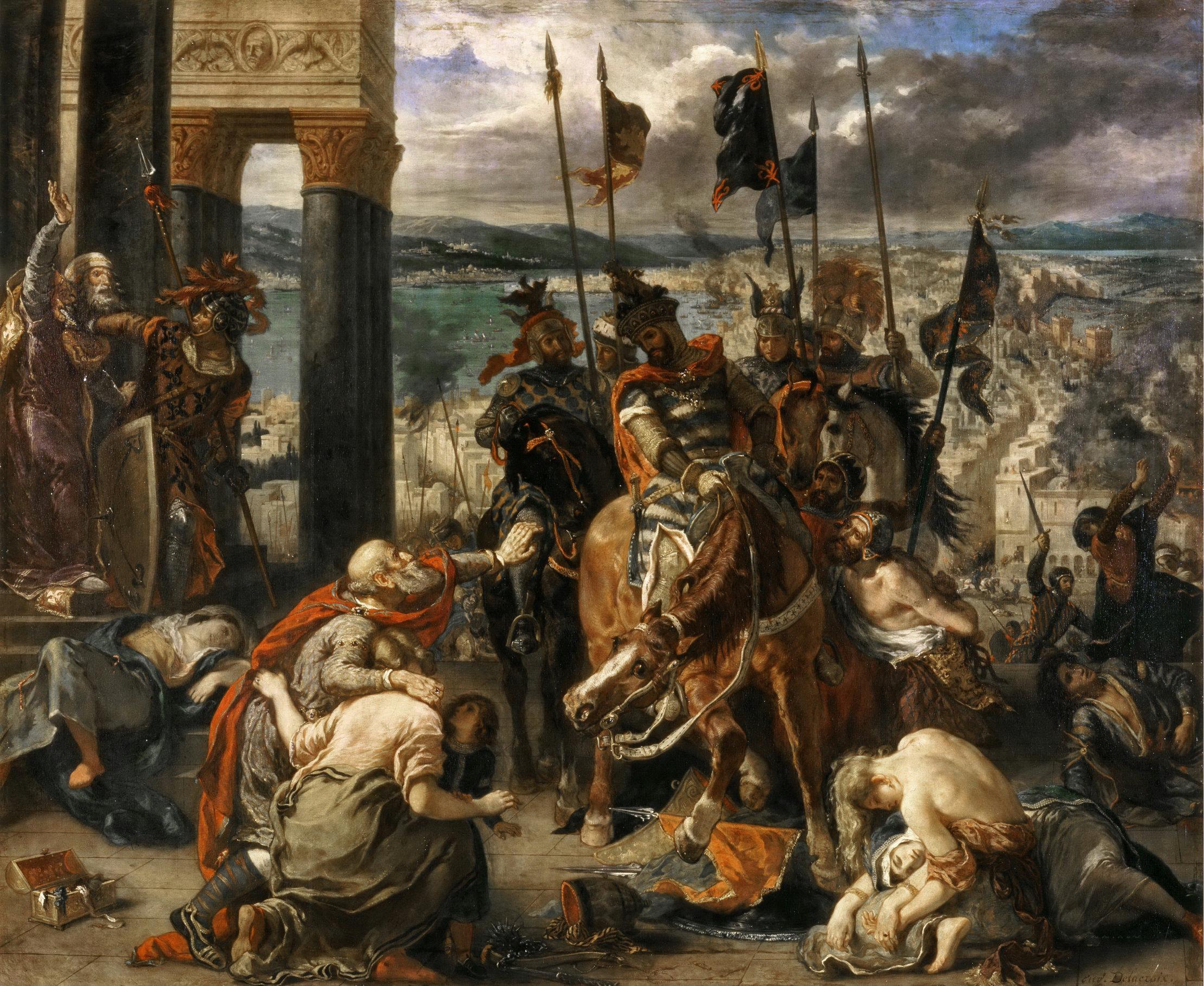 Crusaders in Constantinople