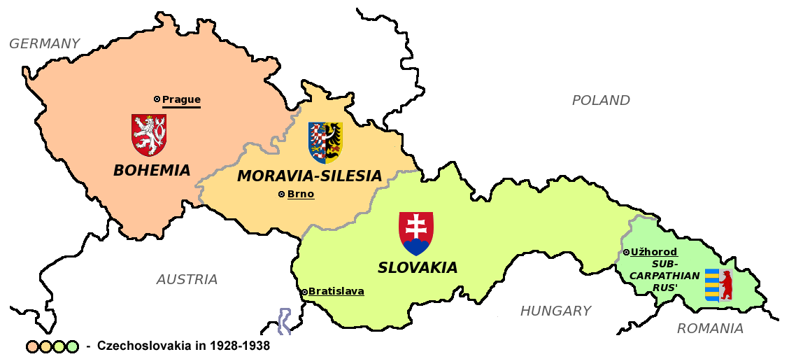 Czechoslovakia in 1928-38
