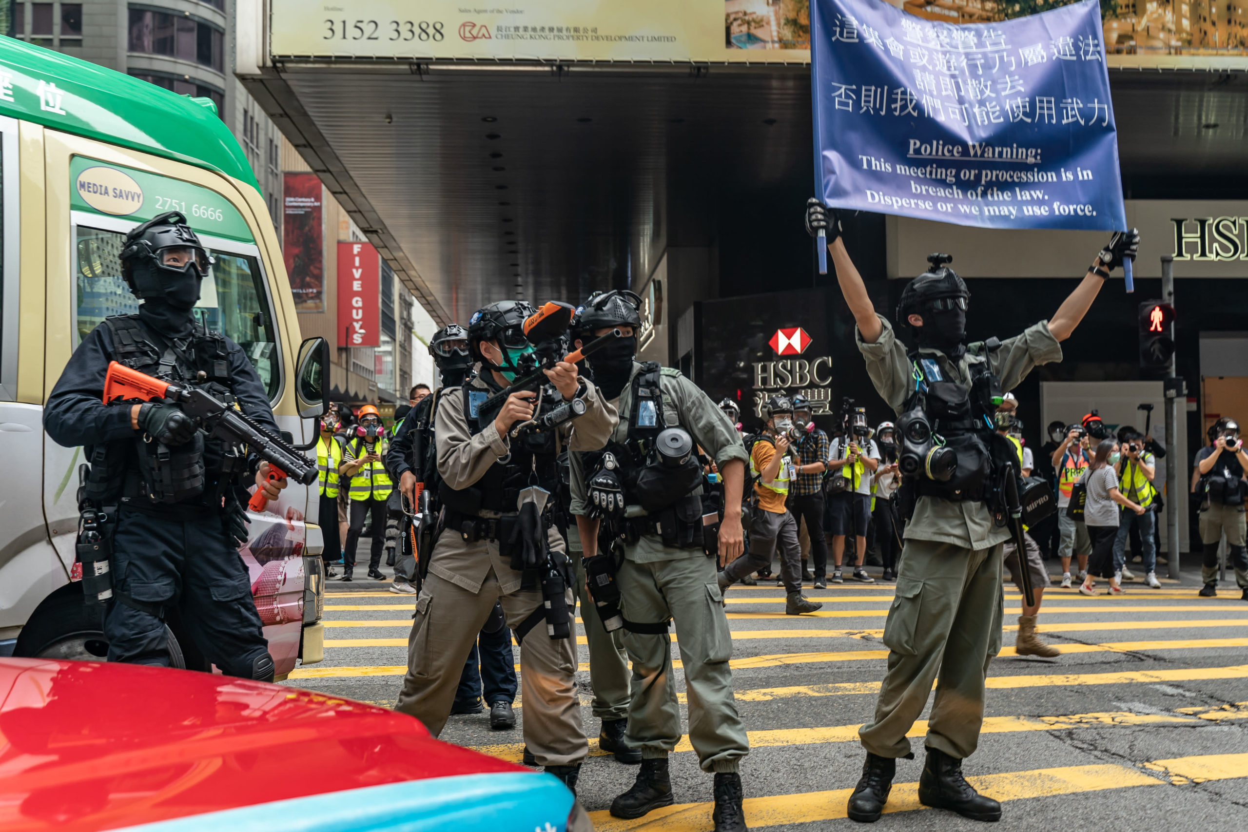 The Five Eyes has been in the vanguard of Hong Kong protests