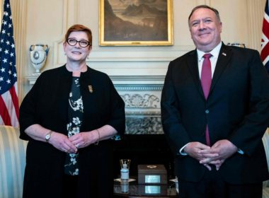 Payne with Pompeo