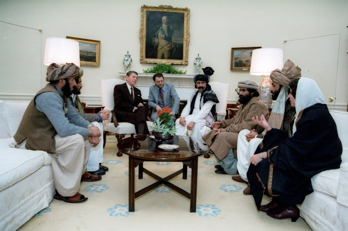 Reagan meets Taliban