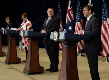 US-AUSTRALIA-POLITICS-CONFERENCE