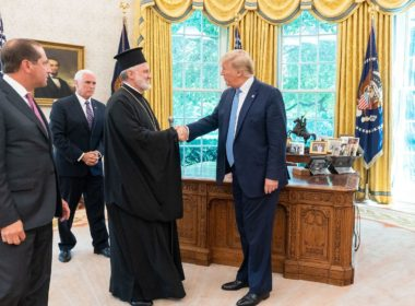 Elpidophoros visited the US president