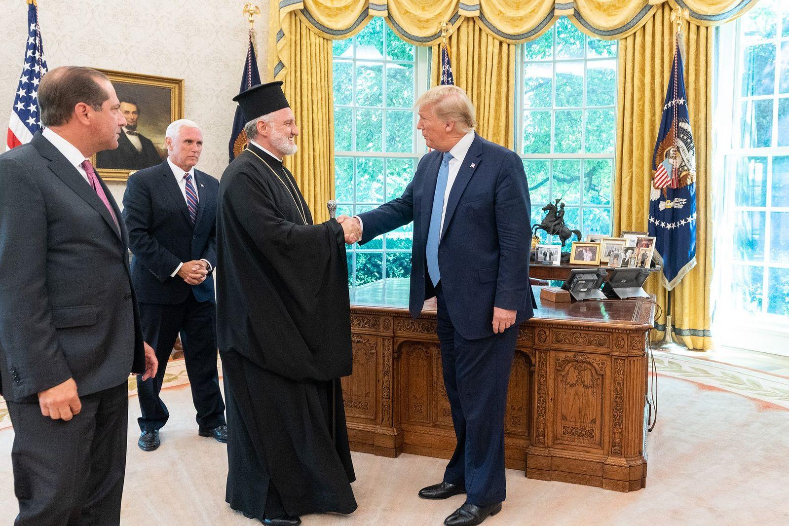 Elpidophoros visited the US president