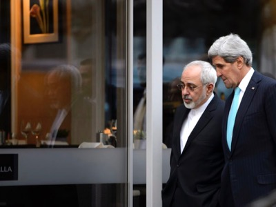 Kerry and Javad Zarif