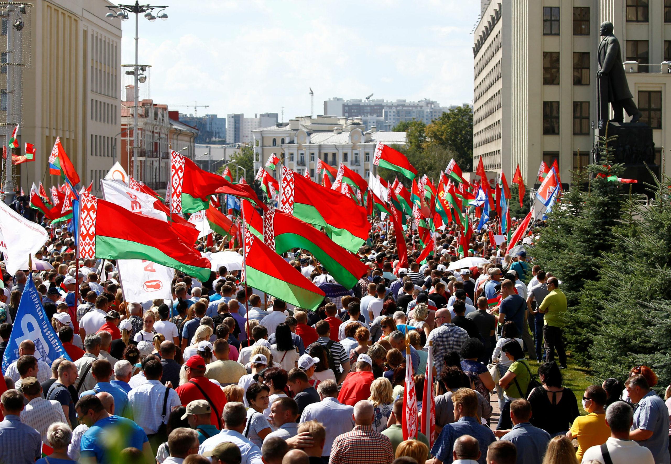 Lukashenko support