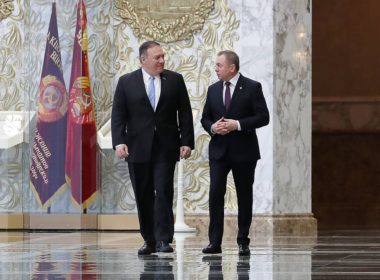 US Secretary of State Pompeo visits Belarus