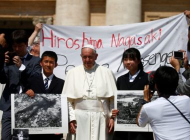 Pope Visits Hiroshima and Hagasaki