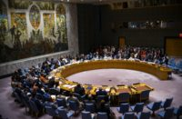 UN SC defeated the US resolution