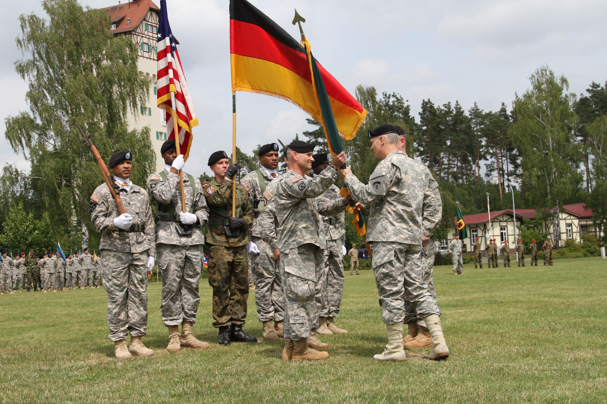 US troops out of Germany