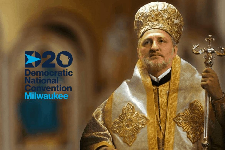 Archbishop Elpidophoros at DNC