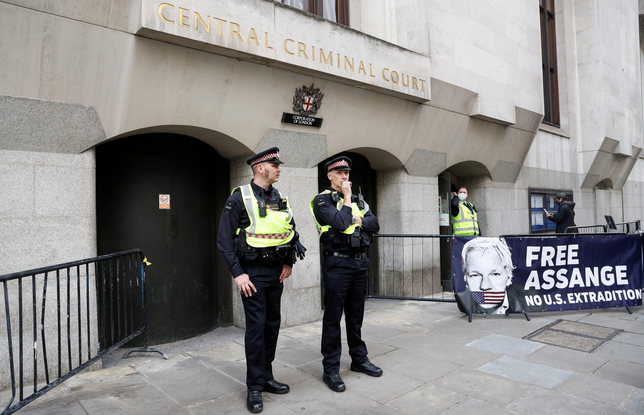 Assange's Third Day