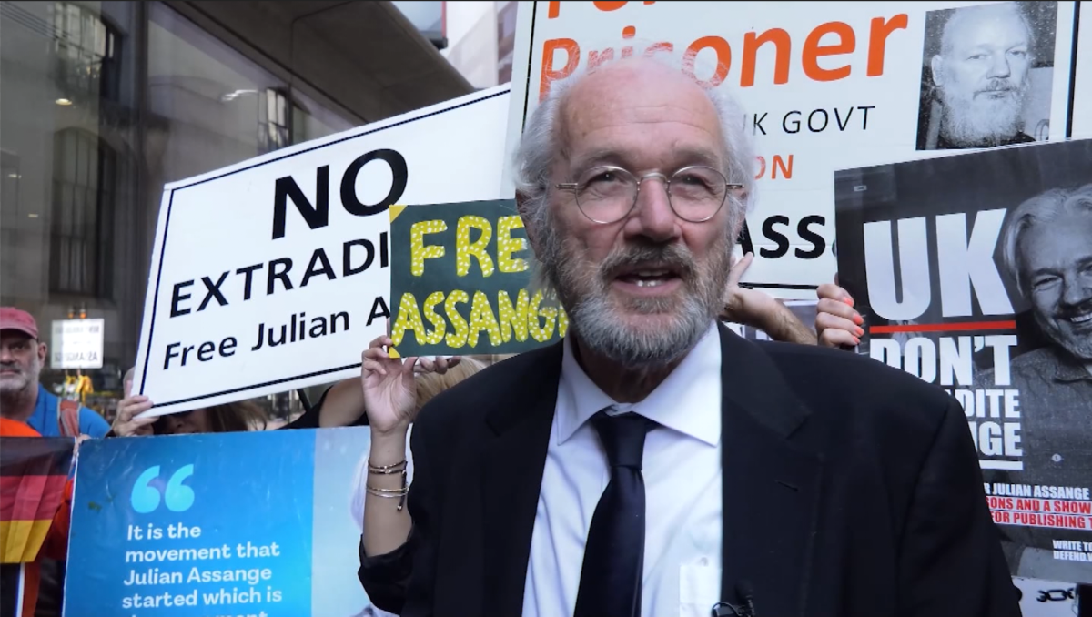 Assange's father