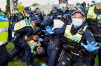 Pandemic arrests in Australia