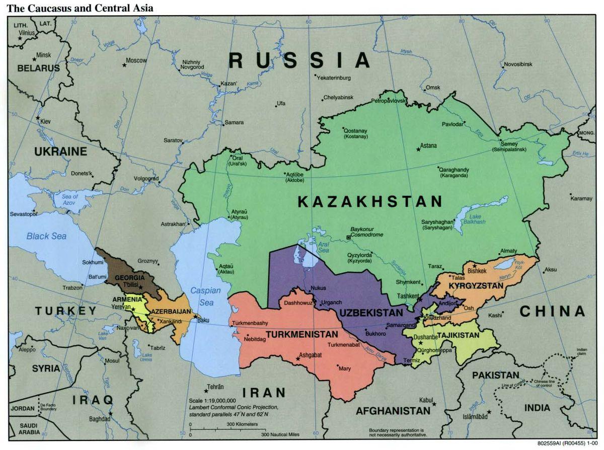 Caucasus and Central Asia